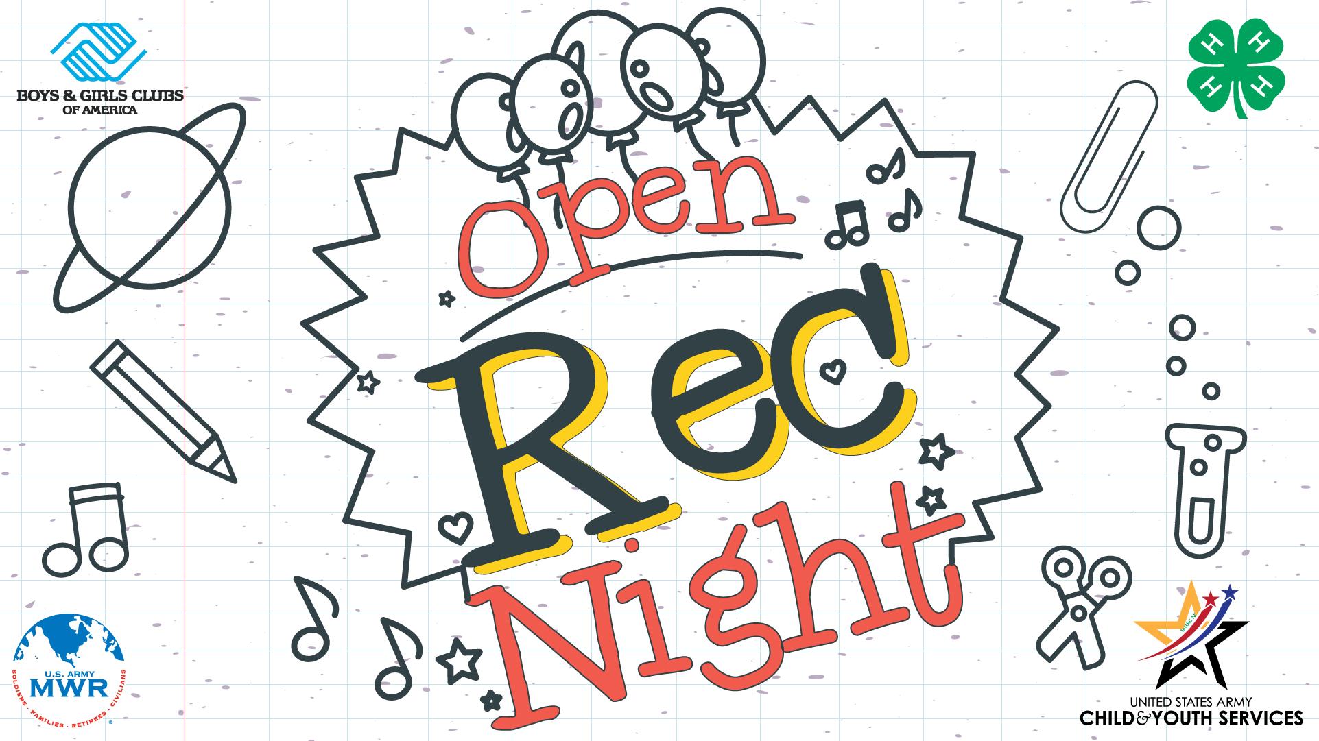 Open Rec Night